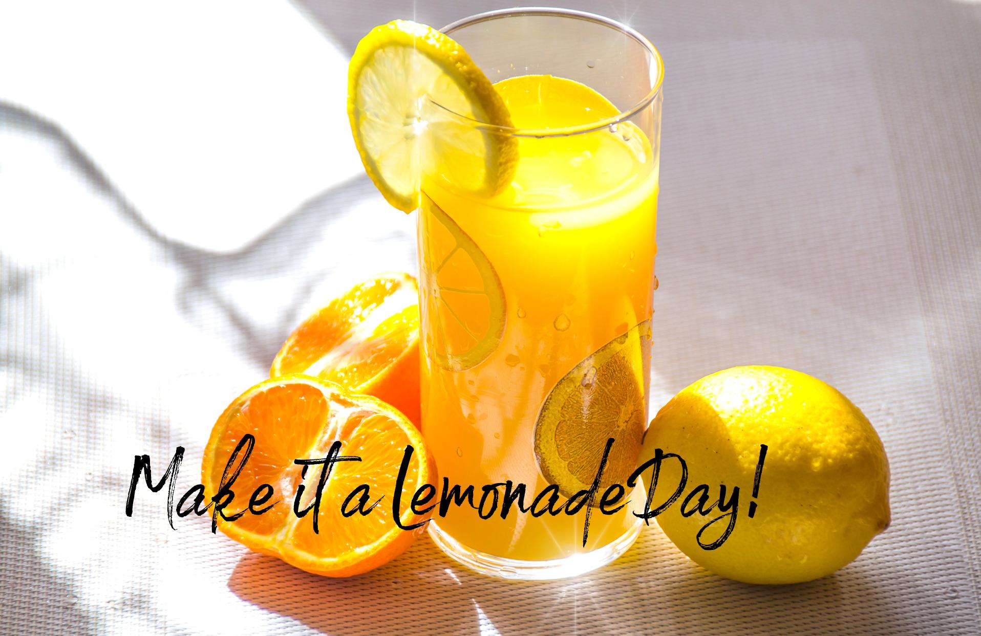 Making Lemonade Today!